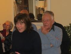 Bill gives Lynne a bit of coaching