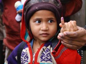 polio-finger
